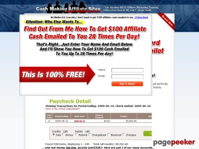 Cash Making Affiliate Sites :: Super Affiliate Systems