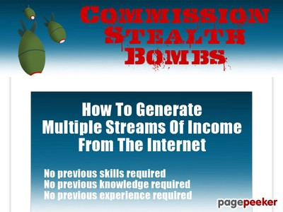 Commission Stealth Bombs – Perfect For Beginners