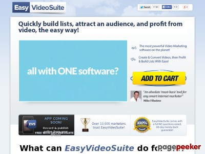 Easyvideosuite – The #1 Video Marketing Platform For Marketers
