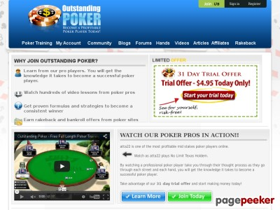 Outstanding Poker Training School – Online Poker Training Videos