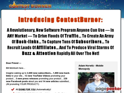 Viral Marketing – Contest Burner Online Contest Software