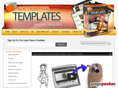 Premium DIY eBay Store And Listing Template