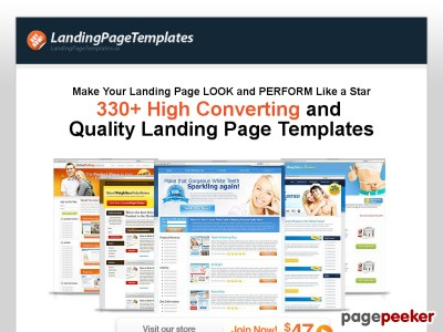 Landing Page Templates | Minisite Templates | Review Site Templates