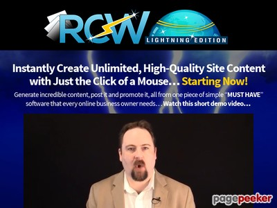 Rapid Content Wizard – Amazing Epcs, Awesome Commissions…