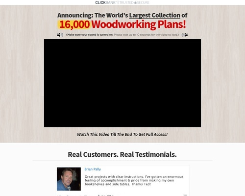 Teds Woodworking® – 16,000 Woodworking Plans & Projects With Videos – Custom Carpentry