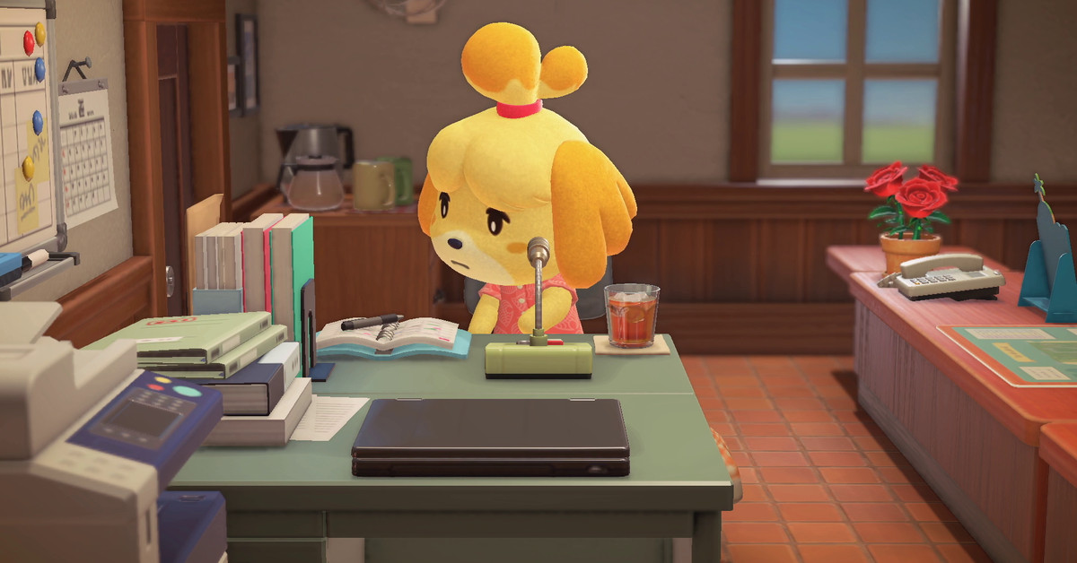 Animal Crossing: New Horizons online servers are down