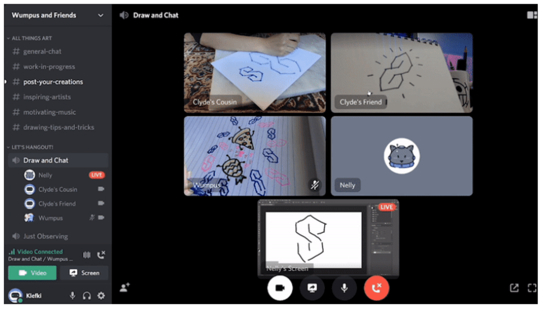 Discord adds drop-in, drop-out video chats