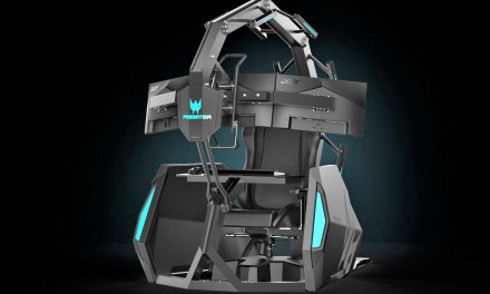 This 'cockpit' like video-gaming chair costs $14,000 —take a look
