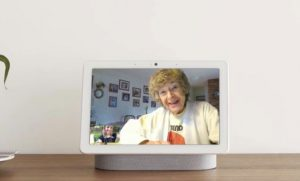 Google is piloting a simpler Nest Hub Max interface at retirement homes