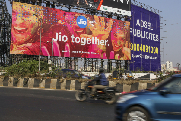 KKR invests $1.5 billion in India's Reliance Jio Platforms