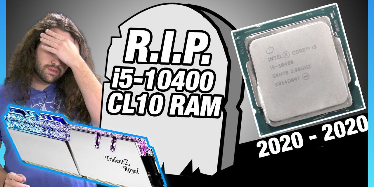 Intel i5-10400 CL10 RAM Timings Tune vs. AMD R5 3600, i5-10600K, 3300X CPU Overclocks