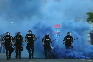 The 1033 program takes center stage again, as militarized police make headlines