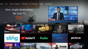 Fire TV better integrates live programming on Sling, Hulu Live and YouTube TV