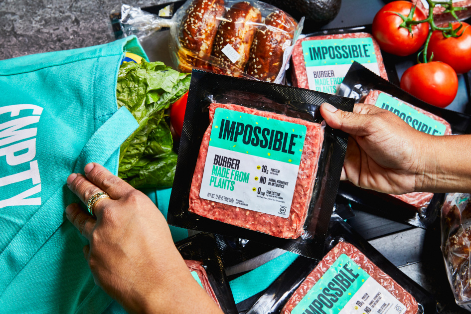 Impossible Burger's fake meat is coming to 2,000 Walmart stores
